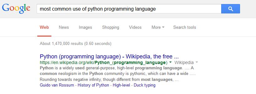choosing your favorite programming language create webquest