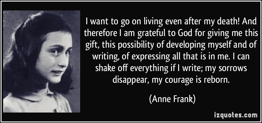 personal reflection of anne franks house Visualizing and personalizing anne frank students will develop an understanding of the personal and students will take a virtual tour of anne frank's house.