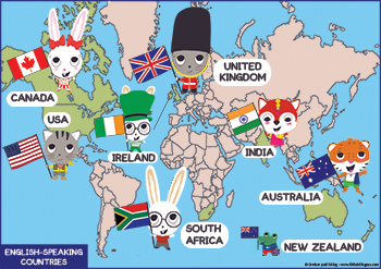 English Speaking Countries In Mr Alejandros ESL Class Create - Language speaking countries