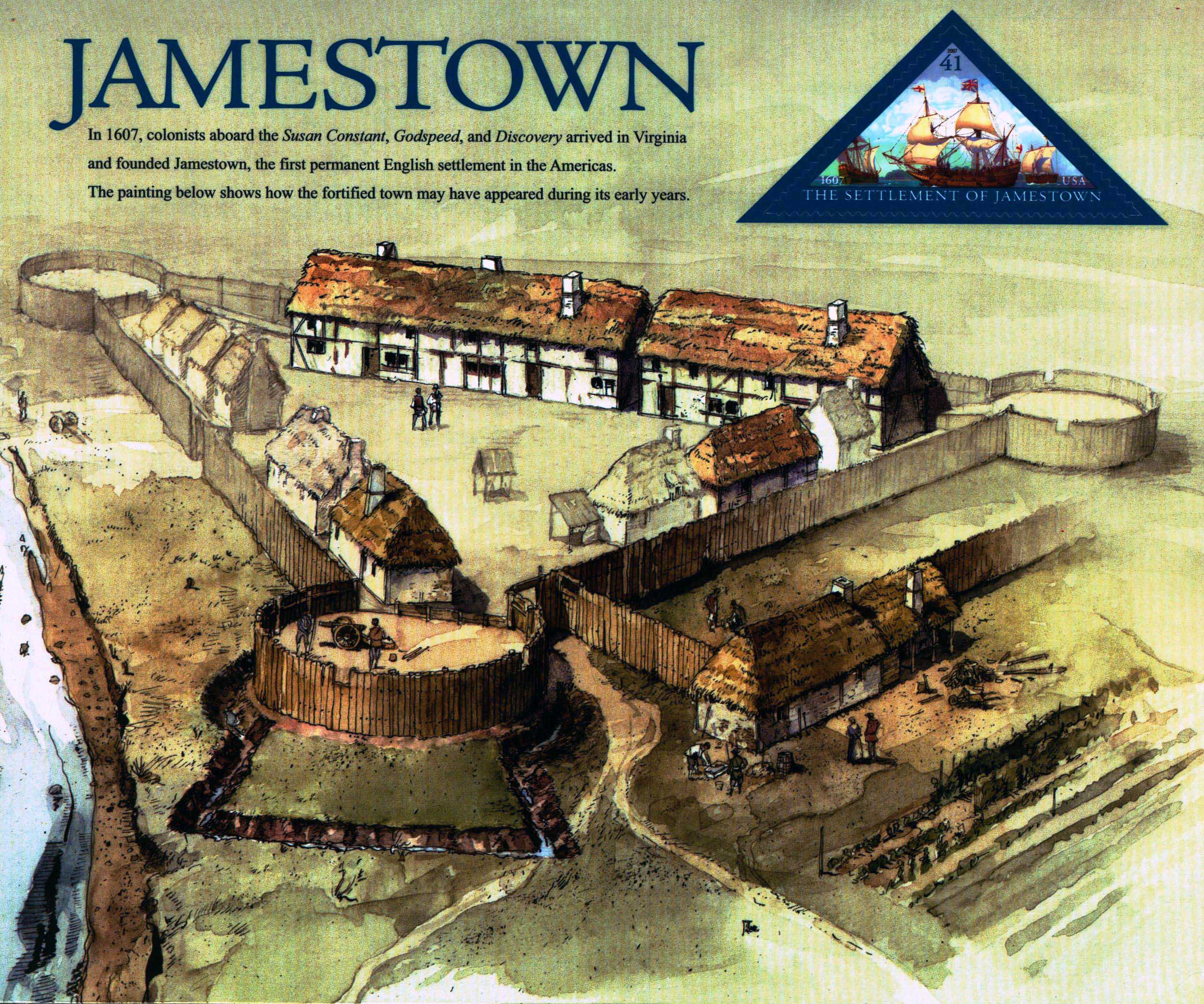 significance of jamestown The first general assembly met in the quire (choir) of the newly-built wooden church at jamestown in 1619 following instructions from the virginia company of london, the sponsors of the colony, the assembly's main purpose was to introduce just laws for the happy guiding of the people.