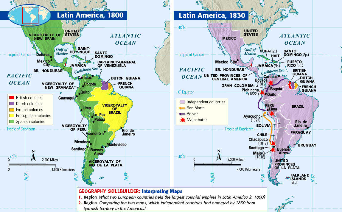 latin and united states