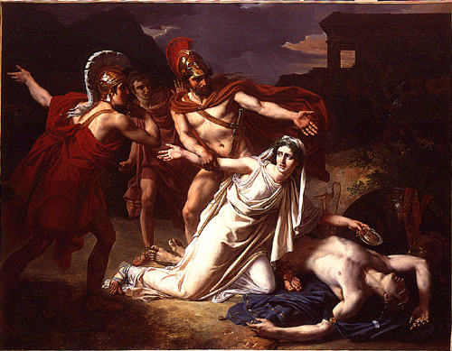 a look at the actions of creon in the play antigone