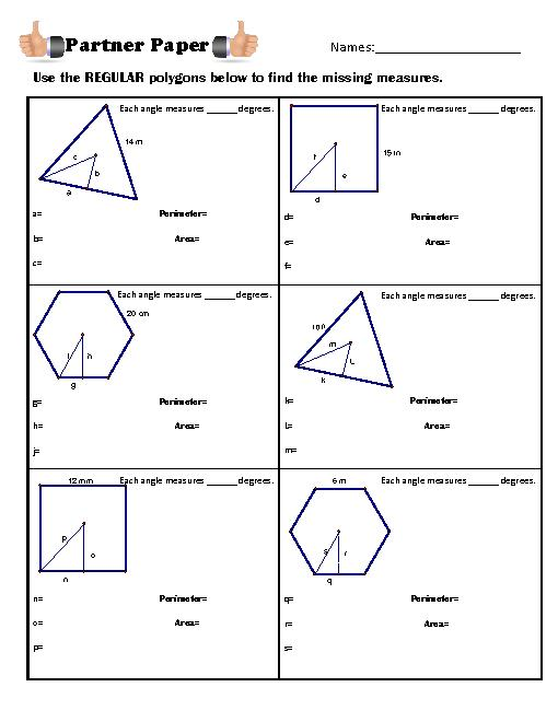 Area Of Regular Polygons   YouTube furthermore 10 3 practice areas of regular polygons form k   Frodo fullring co together with Kuta  Geometry  Area Of Regular Polygons Part 1   YouTube likewise Names of Polygons   Geometry Worksheets   Quadrilaterals and as well 11 3 Areas of Regular Polygons and Circles further 6 Area of Regular Polygons pdf   Kuta Infinite Geometry in addition worksheets  Area Of Regular Polygons Worksheet 2 Answer Key furthermore Geometry Worksheets   Area and Perimeter Worksheets   Math as well Regular Polygon Worksheets Math Area Of Regular Polygons Worksheet besides  furthermore Area Of Regular Polygons Worksheet – ishtarairlines also Area Of Regular Polygon Worksheet   Homedressage likewise 11 3 Areas of Regular Polygons and Circles in addition Regular Polygon Lesson Plans   Worksheets   Lesson Pla additionally 10 4 homework areas of regular polygons additionally Area of a Regular Polygon   Create WebQuest. on areas of regular polygons worksheet