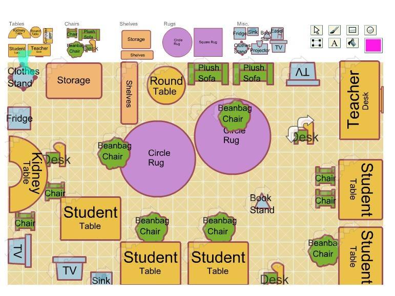 Unit 2: My Community | Create WebQuest Clroom Map on