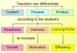 Types of differetiated instruction