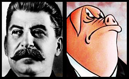 "animal farm stalin and napoleon Napoleon, ""president of animal farm,"" is the main antagonist of the novel his name originates from the french emperor napoleon bonaparte, whom george orwell."