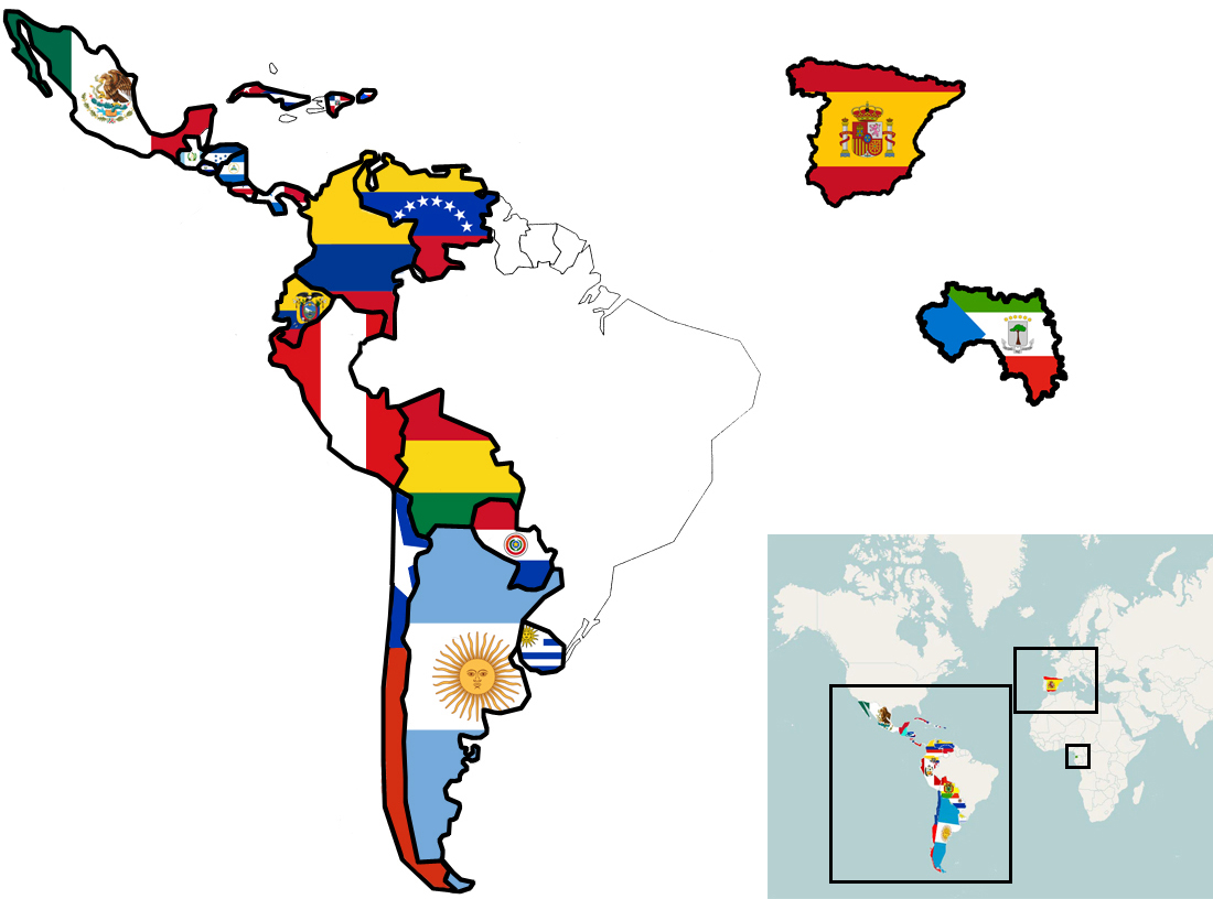 Spanish Around The World Descubre Los Pa 237 Ses