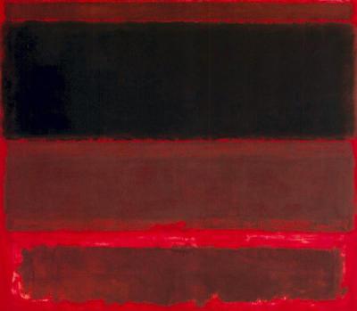 Abstract Art by Mark Rothko 1958