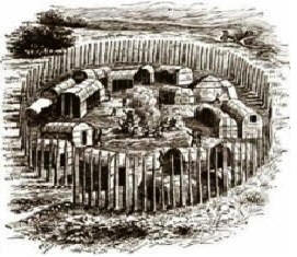 algonquians and iroquoians farmers of the Washington met with monacatoocha of the oneida branch of the iroquois nation,   an algonquian name that translated to town taker or devourer of villages.