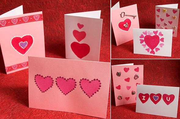 True Meaning of Valentines Day WebQuest – Valentines Day Cards for Children to Make