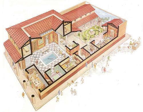 Daily Life In Ancient Rome Create Webquestrhcreatewebquest: Rome Floor Plan Homes At Gmaili.net